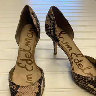 Primary Photo - BRAND: SAMI & JO STYLE: SHOES LOW HEEL COLOR: SNAKESKIN PRINT SIZE: 6 SKU: 117-117103-52334