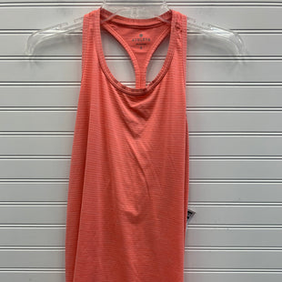 Primary Photo - BRAND: ATHLETA STYLE: ATHLETIC TANK TOP COLOR: ORANGE SIZE: S SKU: 117-117103-50782