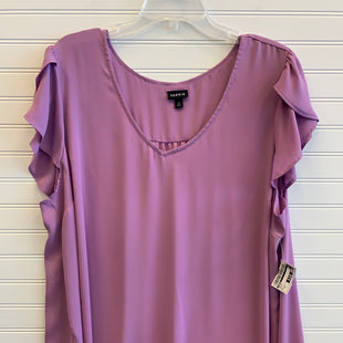 Primary Photo - BRAND: TORRID STYLE: TOP SHORT SLEEVE COLOR: PURPLE SIZE: 2X SKU: 117-11711-172550