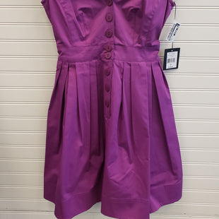 Primary Photo - BRAND: NANETTE LEPORE STYLE: DRESS SHORT SHORT SLEEVE COLOR: PURPLE SIZE: 0 OTHER INFO: RETAIL $378/ NEVER WORN SKU: 117-11711-186526