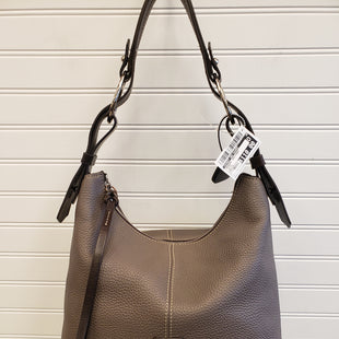 Primary Photo - BRAND: DOONEY AND BOURKE STYLE: HANDBAG DESIGNER COLOR: TAUPE SIZE: MEDIUM SKU: 117-117120-28060