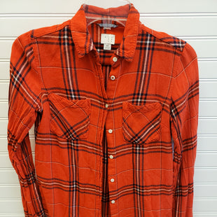 Primary Photo - BRAND: A NEW DAY STYLE: TOP LONG SLEEVE COLOR: PLAID SIZE: XS SKU: 117-117103-49959
