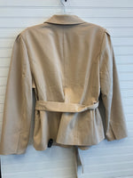 Photo #1 - BRAND: NEW YORK AND CO <BR>STYLE: BLAZER JACKET <BR>COLOR: TAN <BR>SIZE: 20 <BR>OTHER INFO: RETAIL $89.95 / NWT <BR>SKU: 117-117136-9629