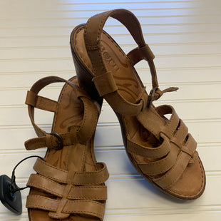 Primary Photo - BRAND: BORN STYLE: SANDALS LOW COLOR: TAN SIZE: 6 SKU: 117-117103-47639