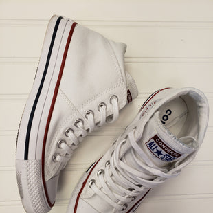 Primary Photo - BRAND: CONVERSE STYLE: SHOES ATHLETIC COLOR: WHITE SIZE: 5 SKU: 117-11711-172973