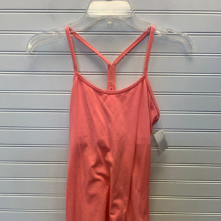 Primary Photo - BRAND: LULULEMON STYLE: ATHLETIC TANK TOP COLOR: ORANGE SIZE: S SKU: 117-11711-181583
