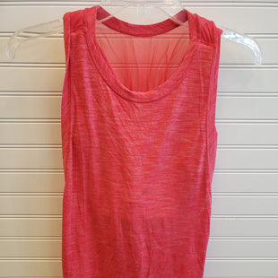 Primary Photo - BRAND: LULULEMON STYLE: ATHLETIC TANK TOP COLOR: RED SIZE: M SKU: 117-11711-182966