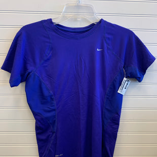 Primary Photo - BRAND: NIKE STYLE: ATHLETIC TOP SHORT SLEEVE COLOR: PURPLE SIZE: S SKU: 117-11783-99462