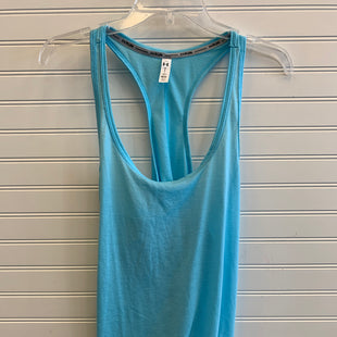 Primary Photo - BRAND: UNDER ARMOUR STYLE: ATHLETIC TANK TOP COLOR: TEAL SIZE: L SKU: 117-117136-8433