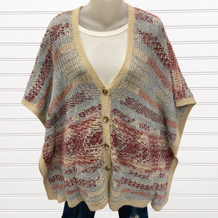 Primary Photo - BRAND: LUCKY BRAND STYLE: SWEATER CARDIGAN HEAVYWEIGHT COLOR: MULTI SIZE: L SKU: 117-11711-174944
