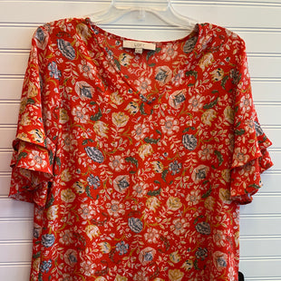 Primary Photo - BRAND: ANN TAYLOR LOFT STYLE: TOP SHORT SLEEVE COLOR: MULTI SIZE: S SKU: 117-117120-26159