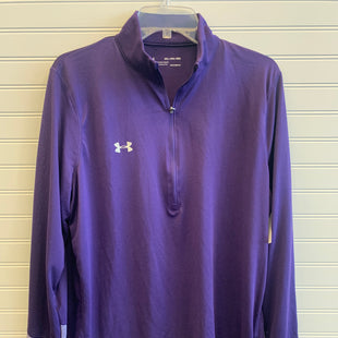 Primary Photo - BRAND: UNDER ARMOUR STYLE: ATHLETIC TOP COLOR: PURPLE SIZE: 2X OTHER INFO: AS IS SMALL HOLE BY COLLAR SKU: 117-11783-99802