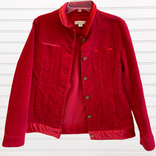 Primary Photo - BRAND: COLDWATER CREEK STYLE: BLAZER JACKET COLOR: RED SIZE: M SKU: 117-11711-178364