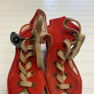 Primary Photo - BRAND: FLY LONDON STYLE: SANDALS LOW COLOR: RED SIZE: 11 SKU: 117-11711-189594