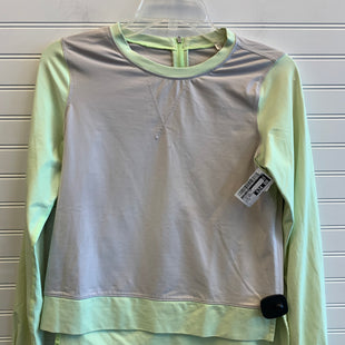 Primary Photo - BRAND: LULULEMON STYLE: ATHLETIC TOP COLOR: LIME GREEN SIZE: 6 OTHER INFO: LIME GREEN BEIGE SKU: 117-11783-100134