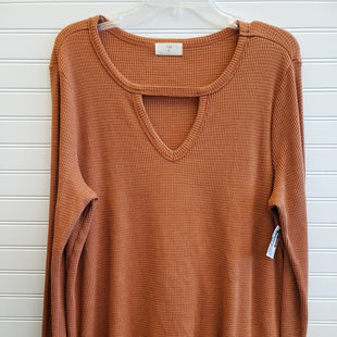 Primary Photo - BRAND: ANTHROPOLOGIE STYLE: TOP LONG SLEEVE COLOR: CREAM SIZE: XL OTHER INFO: T.LA SKU: 117-11711-180584