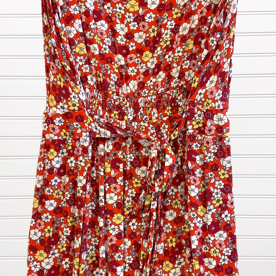 Photo #4 - BRAND: LOFT <BR>STYLE: DRESS SHORT SLEEVELESS <BR>COLOR: MULTI <BR>SIZE: 22 <BR>SKU: 117-117136-4472