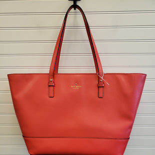 Primary Photo - BRAND: KATE SPADE STYLE: HANDBAG DESIGNER COLOR: CORAL SIZE: LARGE SKU: 117-11711-190547