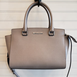 Primary Photo - BRAND: MICHAEL BY MICHAEL KORS STYLE: HANDBAG DESIGNER COLOR: TAUPE SIZE: MEDIUM SKU: 117-11711-187992