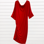 Primary Photo - BRAND:   CMC <BR>STYLE: DRESS SHORT LONG SLEEVE <BR>COLOR: RED <BR>SIZE: 2X <BR>OTHER INFO: QRYSTAL FRAZIER DESIGNS - <BR>SKU: 117-117120-23839
