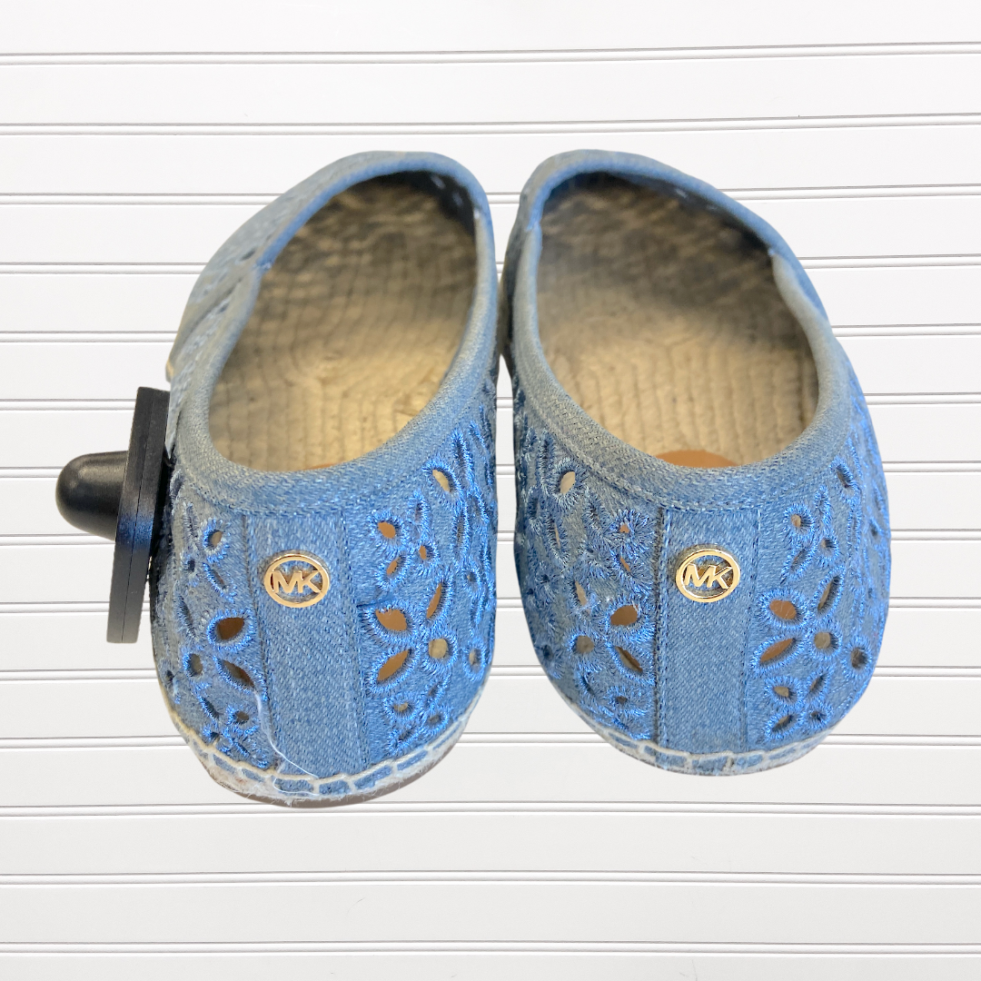Photo #1 - BRAND: MICHAEL BY MICHAEL KORS <BR>STYLE: SHOES FLATS <BR>COLOR: BLUE <BR>SIZE: 8.5 <BR>SKU: 117-11711-173358
