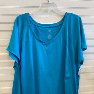 Primary Photo - BRAND: LIVI ACTIVE STYLE: ATHLETIC TOP SHORT SLEEVE COLOR: TEAL SIZE: 26 SKU: 117-117120-22971
