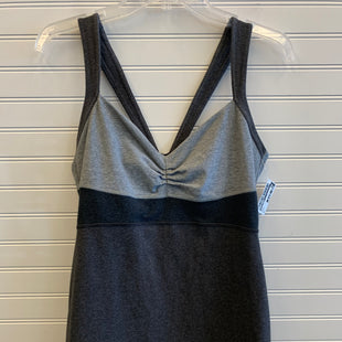 Primary Photo - BRAND: LULULEMON STYLE: ATHLETIC TANK TOP COLOR: GREY SIZE: S SKU: 117-11711-184844