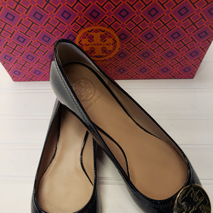 Primary Photo - BRAND: TORY BURCH STYLE: SHOES FLATS COLOR: NAVY SIZE: 9 OTHER INFO: RETAIL $235 SKU: 117-117136-13410WITH BOX