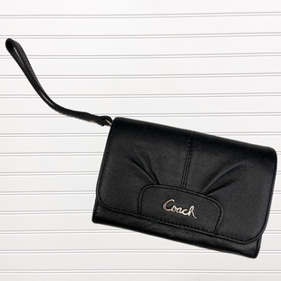 Primary Photo - BRAND: COACH STYLE: WALLET COLOR: BLACK SIZE: MEDIUM SKU: 117-11711-175324