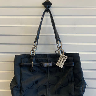 Primary Photo - BRAND: COACH STYLE: HANDBAG DESIGNER COLOR: BLACK SIZE: LARGE SKU: 117-11711-189948
