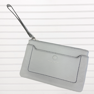 Primary Photo - BRAND: MARC JACOBS STYLE: WRISTLET COLOR: GREY SKU: 117-117103-52639