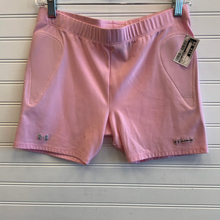 Primary Photo - BRAND: UNDER ARMOUR STYLE: ATHLETIC SHORTS COLOR: PINK SIZE: L SKU: 117-117136-4285
