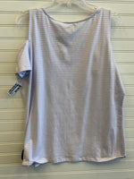 Photo #1 - BRAND: MICHAEL BY MICHAEL KORS <BR>STYLE: TOP SHORT SLEEVE <BR>COLOR: STRIPED <BR>SIZE: L <BR>OTHER INFO: RETAIL $59.50 <BR>SKU: 117-117103-54635R