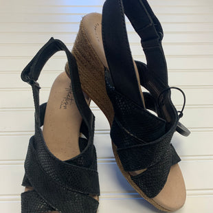 Primary Photo - BRAND: COLE-HAAN STYLE: SANDALS LOW COLOR: BLACK SIZE: 6.5 SKU: 117-117120-17880