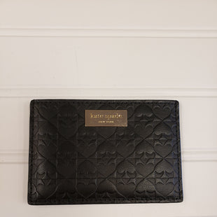 Primary Photo - BRAND: KATE SPADE STYLE: WALLET COLOR: BLACK SIZE: SMALL OTHER INFO: CARD HOLDER SKU: 117-11711-172093R