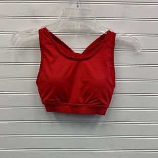 Primary Photo - BRAND: ADIDAS STYLE: ATHLETIC TANK TOP COLOR: RED SIZE: XS OTHER INFO: SPORTS BRA SKU: 117-11711-178018