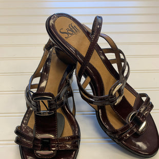 Primary Photo - BRAND: SOFFT STYLE: SANDALS LOW COLOR: BROWN SIZE: 8 SKU: 117-117103-54694