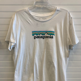Primary Photo - BRAND: PATAGONIA STYLE: ATHLETIC TOP SHORT SLEEVE COLOR: MULTI SIZE: XL SKU: 117-117103-53046