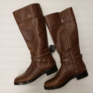 Primary Photo - BRAND: COACH STYLE: BOOTS KNEE COLOR: BROWN SIZE: 10 SKU: 117-11711-178986