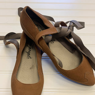 Primary Photo - BRAND: FREE PEOPLE STYLE: SHOES FLATS COLOR: BROWN SIZE: 6 OTHER INFO: AS IS SKU: 117-11711-176876