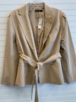 Primary Photo - BRAND: NEW YORK AND CO <BR>STYLE: BLAZER JACKET <BR>COLOR: TAN <BR>SIZE: 20 <BR>OTHER INFO: RETAIL $89.95 / NWT <BR>SKU: 117-117136-9629
