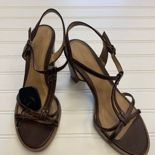 Primary Photo - BRAND: PREDICTIONS STYLE: SANDALS LOW COLOR: BROWN SIZE: 8.5 SKU: 117-117103-45590