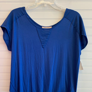 Primary Photo - BRAND: PHILOSOPHY STYLE: TOP SHORT SLEEVE COLOR: BLUE SIZE: L SKU: 117-117132-332