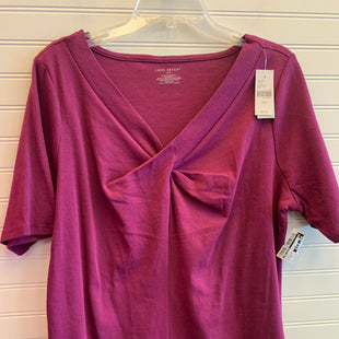 Primary Photo - BRAND: LANE BRYANT STYLE: TOP SHORT SLEEVE COLOR: PLUM SIZE: 16 OTHER INFO: RETAIL $34.95 / NWT SKU: 117-117136-10606