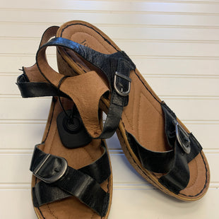 Primary Photo - BRAND: JOSEF SEIBEL STYLE: SANDALS LOW COLOR: BLACK SIZE: 8 OTHER INFO: 8-8.5 SKU: 117-117103-54927