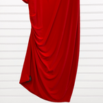 Photo #2 - BRAND:   CMC <BR>STYLE: DRESS SHORT LONG SLEEVE <BR>COLOR: RED <BR>SIZE: 2X <BR>OTHER INFO: QRYSTAL FRAZIER DESIGNS - <BR>SKU: 117-117120-23839