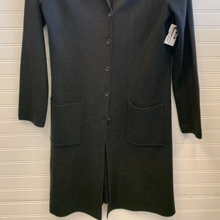 Primary Photo - BRAND: BCBGMAXAZRIA STYLE: SWEATER CARDIGAN HEAVYWEIGHT COLOR: BLACK SIZE: L SKU: 117-11711-182539