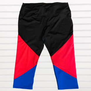 Primary Photo - BRAND: LIVI ACTIVE STYLE: ATHLETIC CAPRIS COLOR: RED BLACK SIZE: 18 SKU: 117-11783-98975