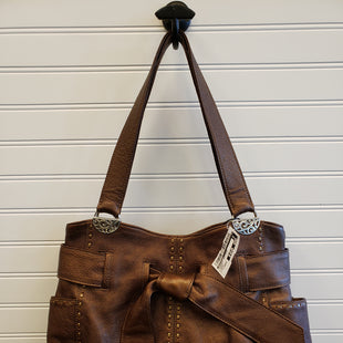 Primary Photo - BRAND: BRIGHTON STYLE: HANDBAG DESIGNER COLOR: BRONZE SIZE: LARGE SKU: 117-117103-51384