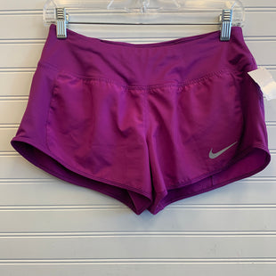 Primary Photo - BRAND: NIKE STYLE: ATHLETIC SHORTS COLOR: PURPLE SIZE: S SKU: 117-11711-179218